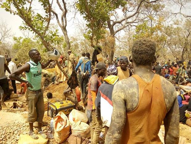Les jeunes dans l'orpaillage au Sénégal