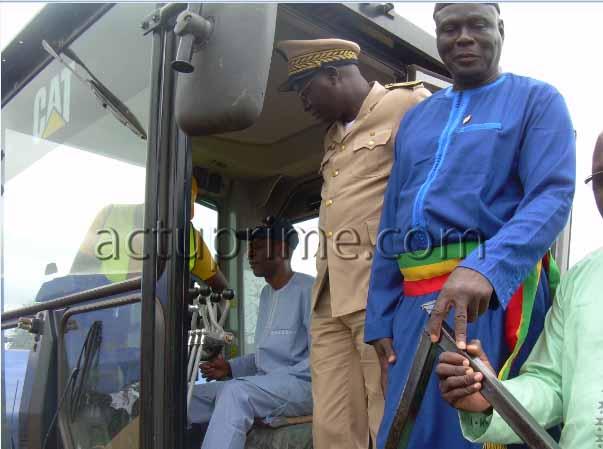 La route Tambacounda-Kidira-Bakel bientôt rénovée