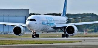 L'avion A330 d'Airbus livré à Air Sénégal
