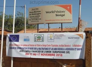 World Vision contre la maltraitance et les abus sexuels à Kédougou