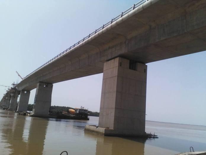 Le pont de Farafégné fini en janvier