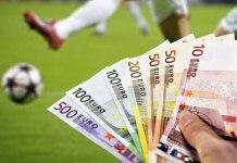 Les dépenses de transfert dans le football mondial