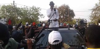 Ousmane Sonko à Kédougou