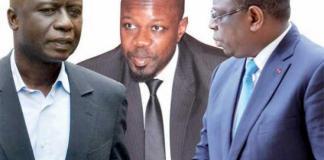 Idrissa Seck avec les recalés du C25