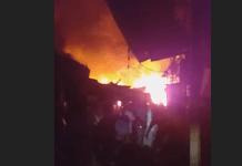 Le marché central de Tambacounda ravagé par un incendie