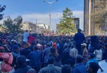 Une manifestation de soutien aux peuls du Mali à Paris