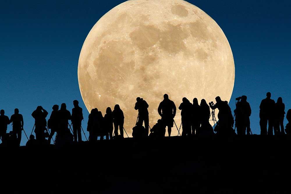 Comment admirer la super lune?