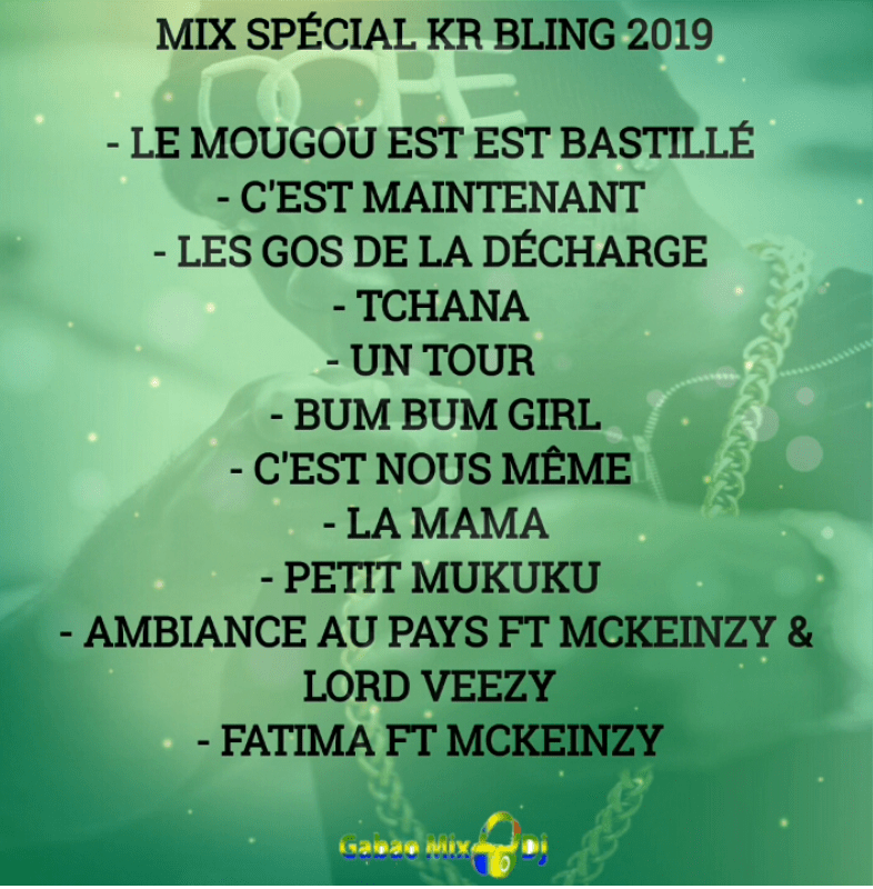 TELECHARGER LE MIX SPÉCIAL KR BLING 2019 BY DJ ALBAN FUCKER MIX