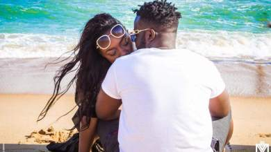 Photo de Shan'l et Locko, le joli couple de stars.