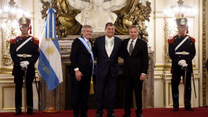 Enviado de EEUU suspendió su asistencia a la toma de posesión del presidente Alberto Fernández