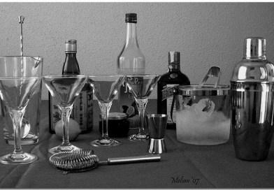 Libros de recetas y accesorios para elaborar tus cocteles