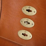 Mulberry Oak Tan Ted Bag Postmans Lock