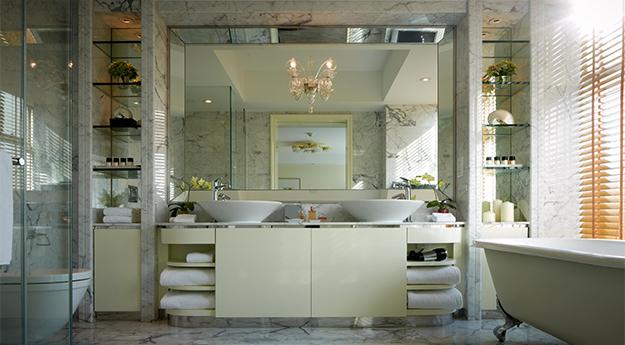 Lanson Place Hotel Hong Kong | Penthouse Suite Bathroom
