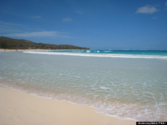 Playa Flamenco, on the laid-back island of Culebra, is half a mile long, great for snorkelers and swimmers alike.