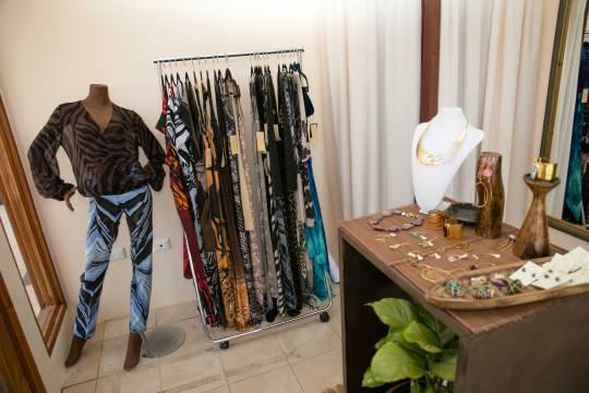 Interior Kaj Flagship Boutique featuring  Koko Karibi Designs jewellery and accessories