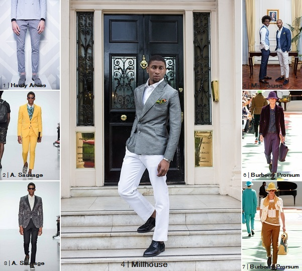 Millhouse TROUSER LENGTH LCM2014 SS15 Collage