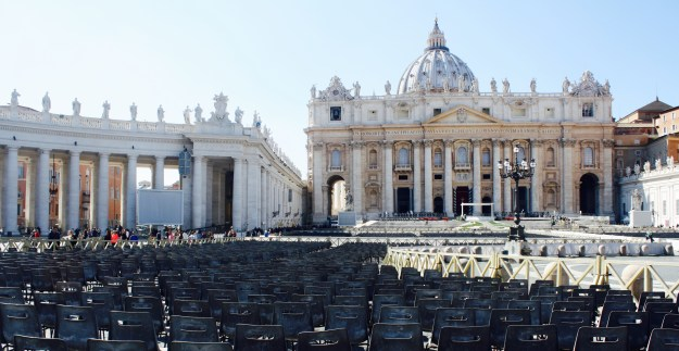 St. Peter's Square (Piazza San Pietro), Vatican City, Rome