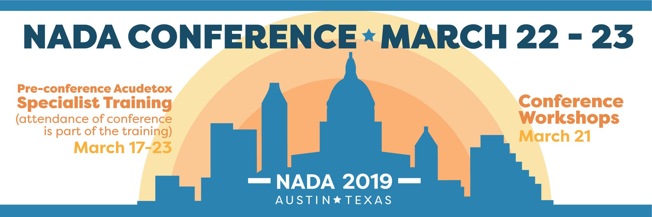National NADA Conference in Austin, TX | National Acupuncture