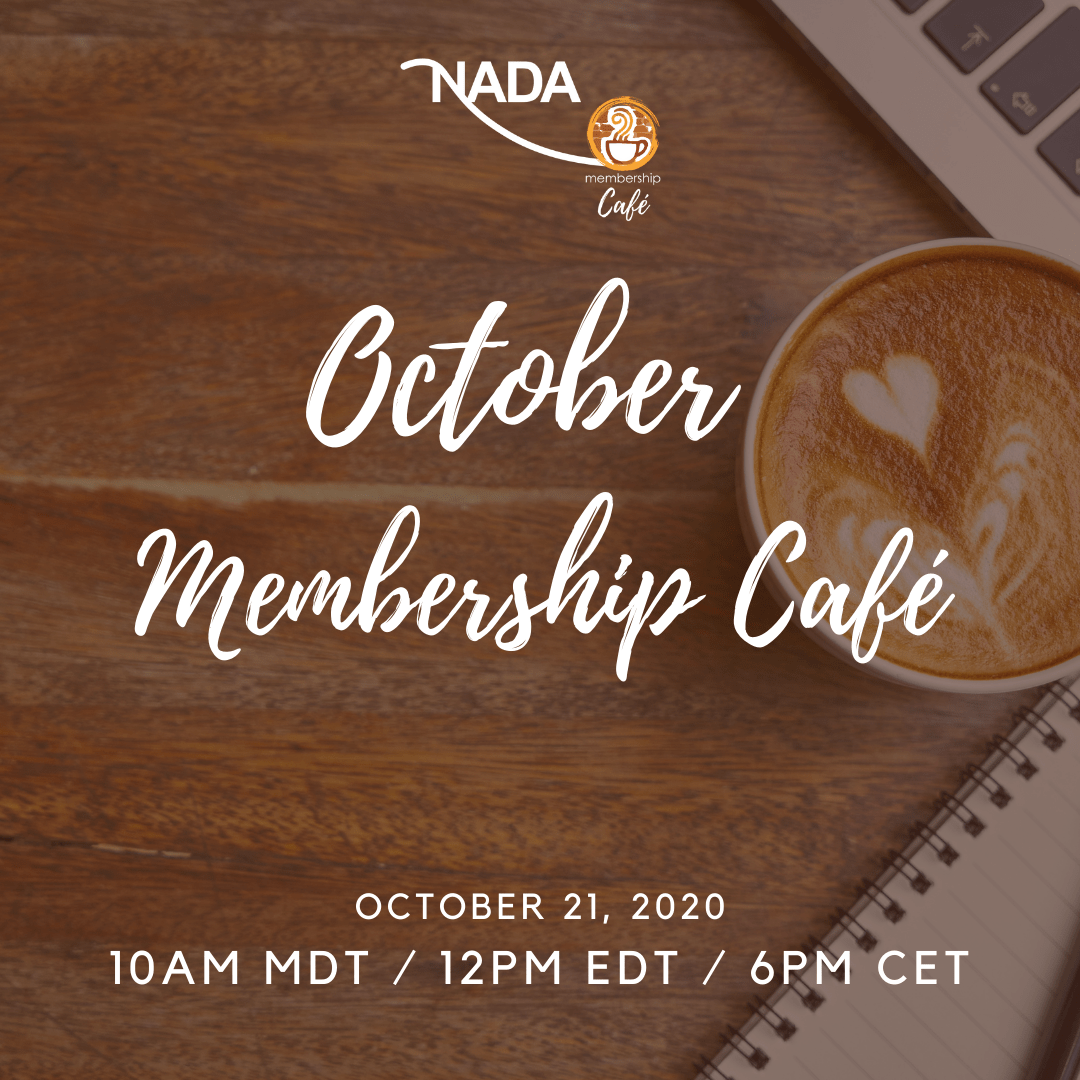 Join us for our October Membership Café