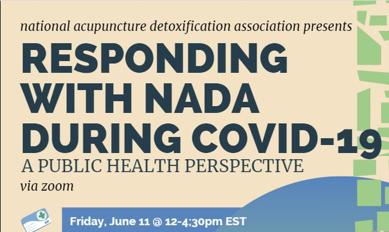 Responding with NADA during Covid-19