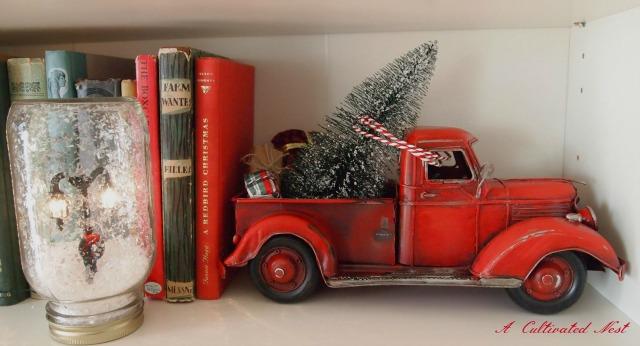 A Christmas Farm Truck Amp A DIY Snowglobe A Cultivated Nest