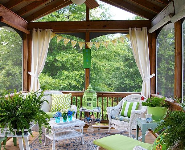 Ideas Screened Porch Decorating