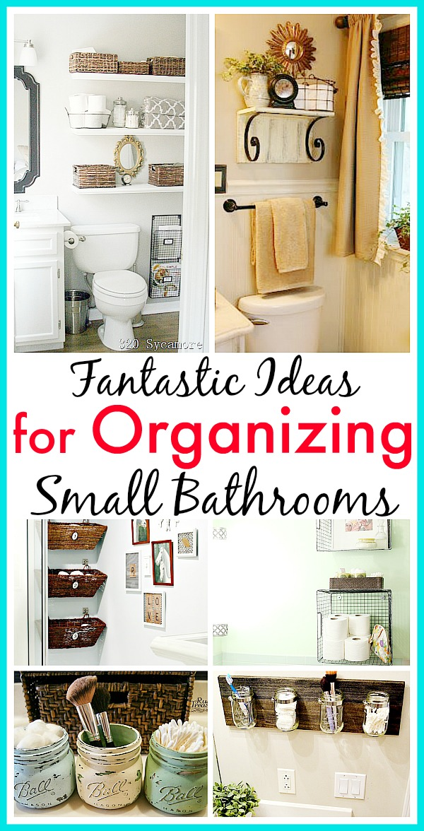 11 Fantastic Small Bathroom Organizing Ideas A Cultivated Nest