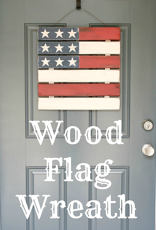 Welcome Your Guests All Summer Long With This Fun Patriotic Shutter Just A Few