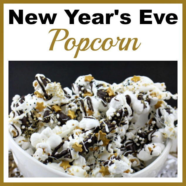 Sparkly New Year S Eve Popcorn Quick And Easy Party Treat