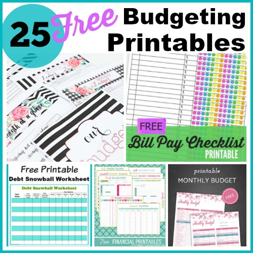 Budget Printables Free Binder 2019