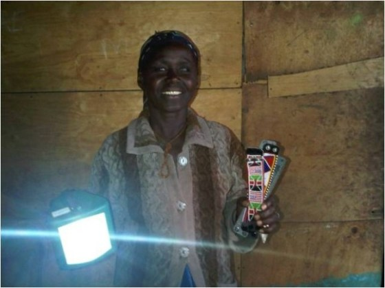 M-Kopa provides financing for solar home systems