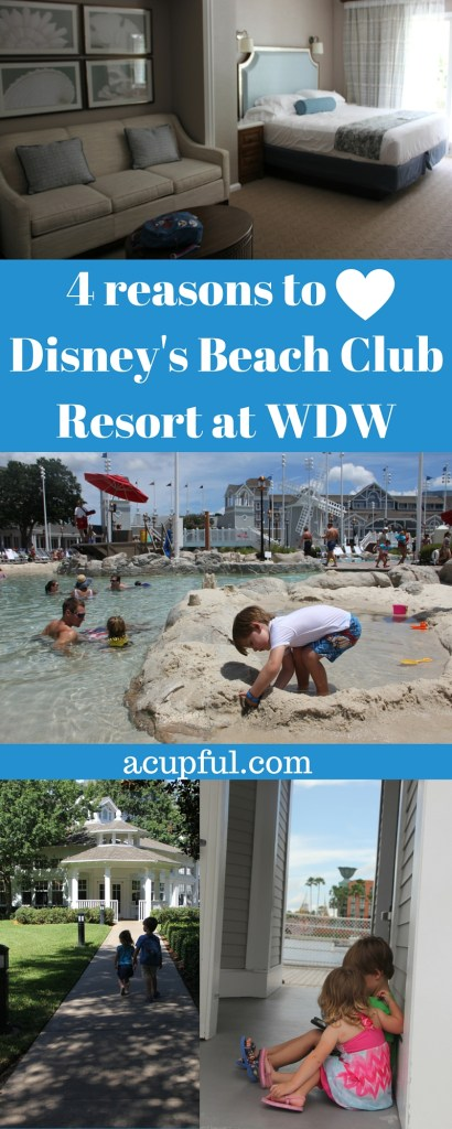 4 reasons to Disney's Beach Club Resort at WDW by acupful.com