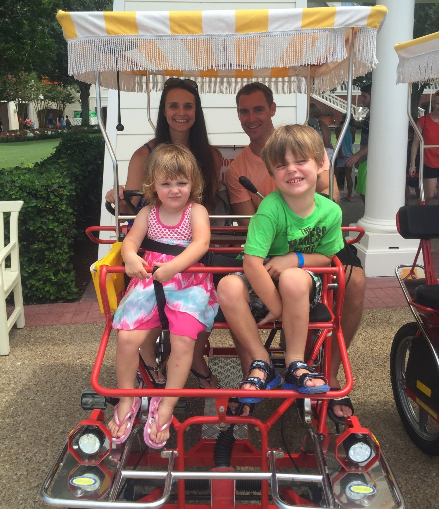 Disney World Surrey Bike Rentals