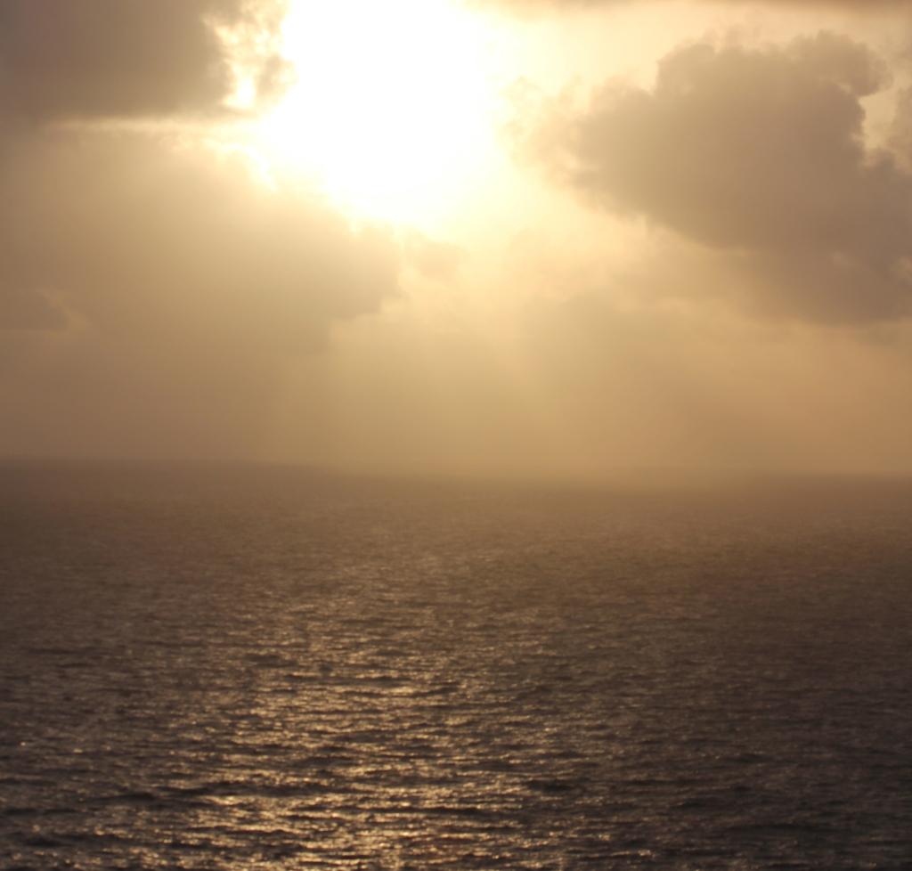 Point Udall sunraise St Croix