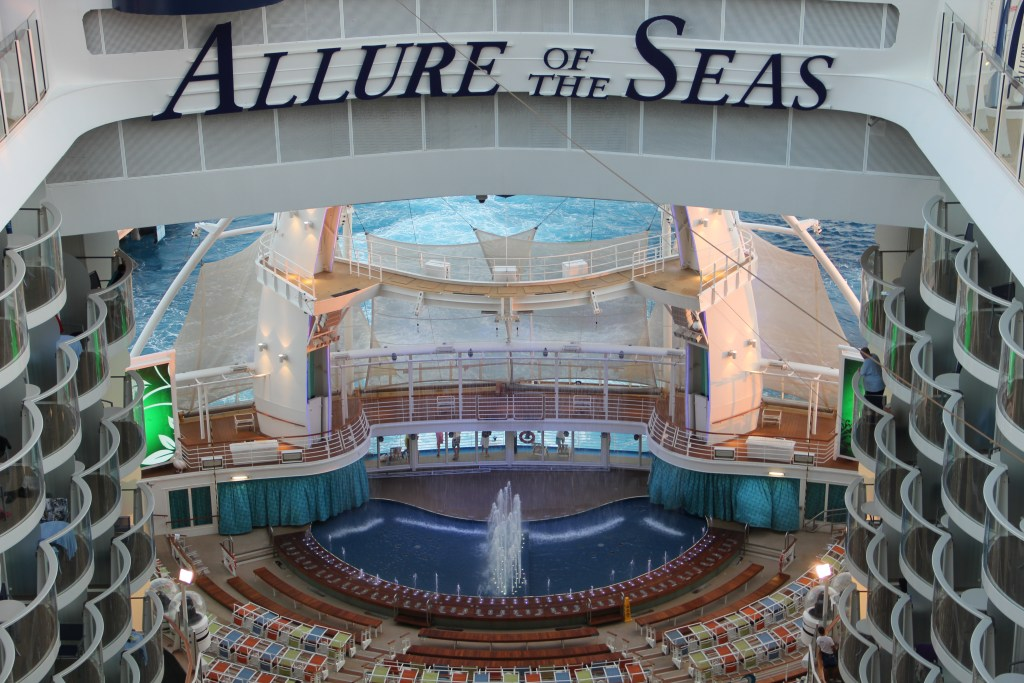 Allure od the seas cruise with kids