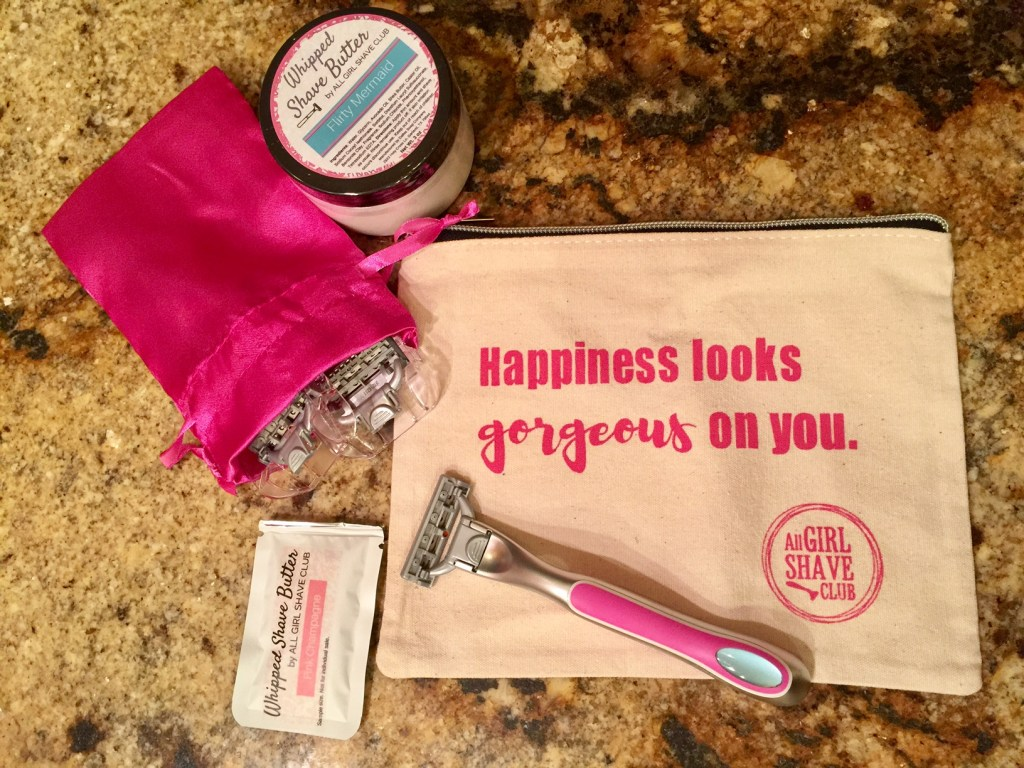 All Girls Shave Club - subscription box