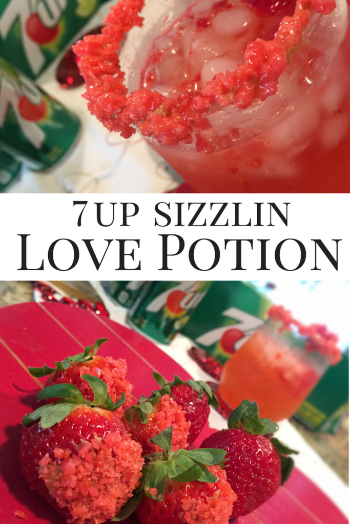 love potion drink with 7 up #justadd7up