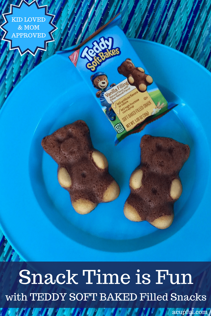Teddy soft baked snacks on Ibotta