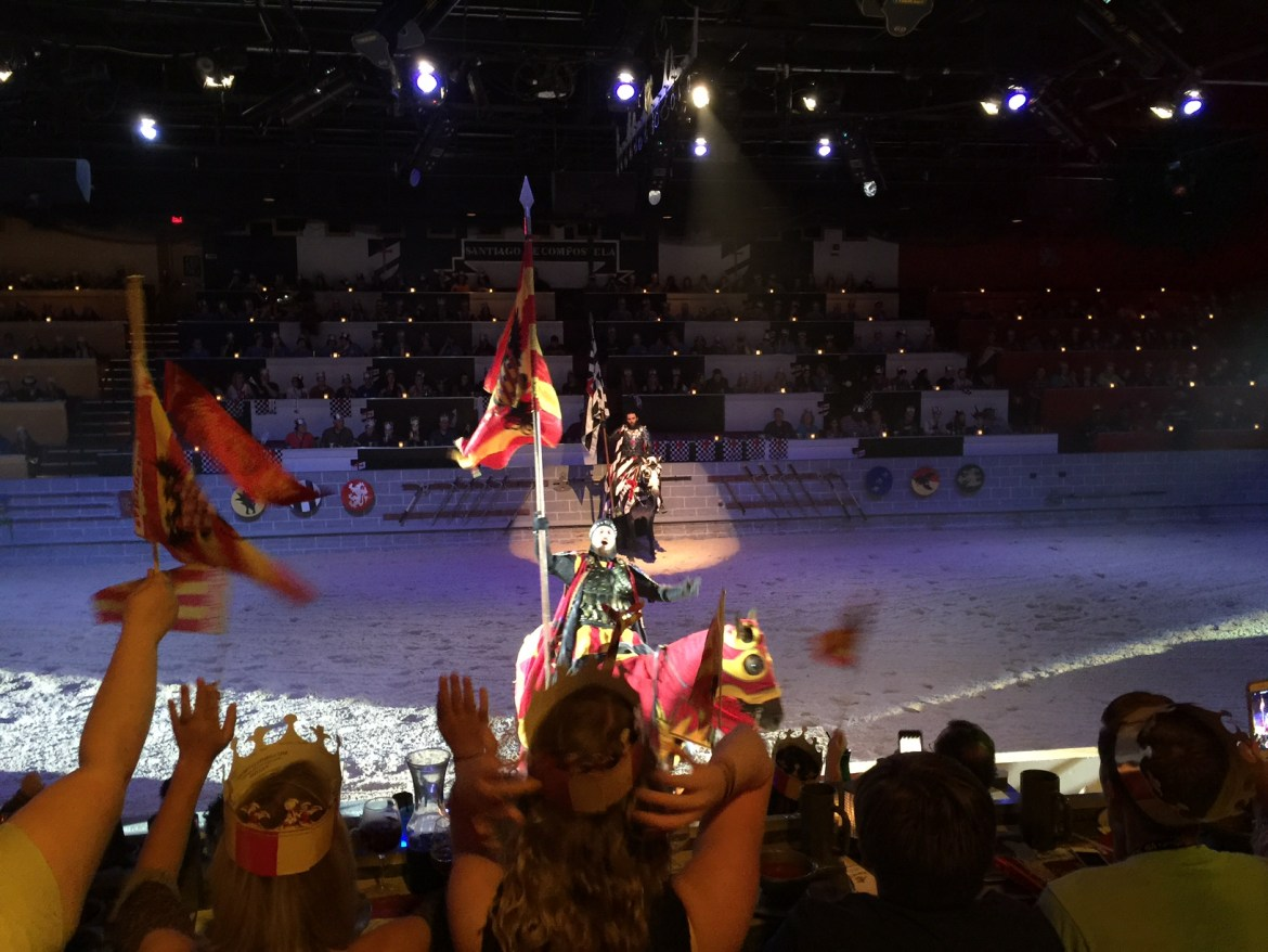 medieval times dinner show orlando florida | acupful.com | tips for medieval times | visit orlando | family travel florida | things to do with kids in orlando | mandy carter | Medieval Times menu | #MTfan