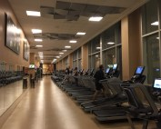 Hilton Orlando fitness center | hotel gyms Orlando | best hotels in Orlando florida | international drive hotels | staying fit while traveling | acupful of carters