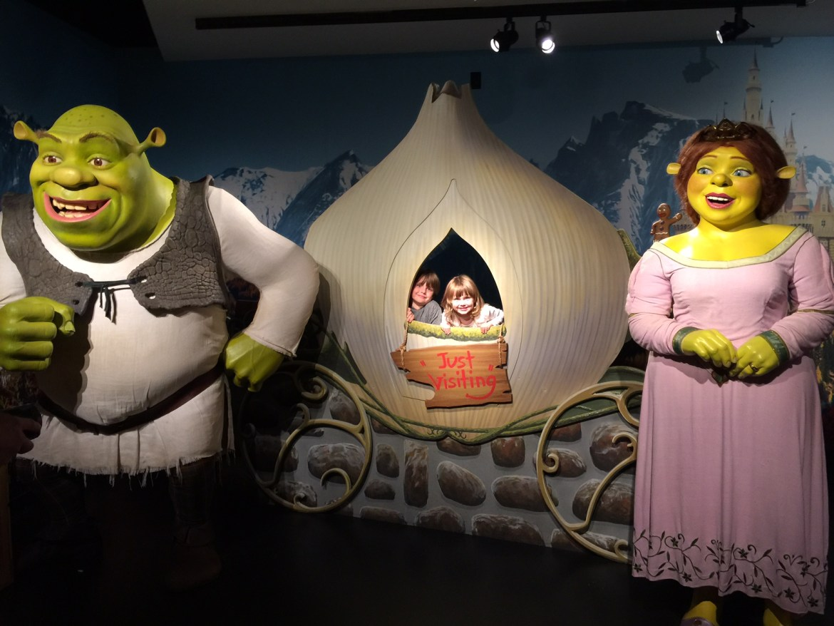 Things to do in Orlando with kids | Idrive 360 with kids | things to do on I-Drive | International Drive | #MadameTOrlando | Madame Tussauds | family travel | acupful.com | Mandy Carter | travel with kids