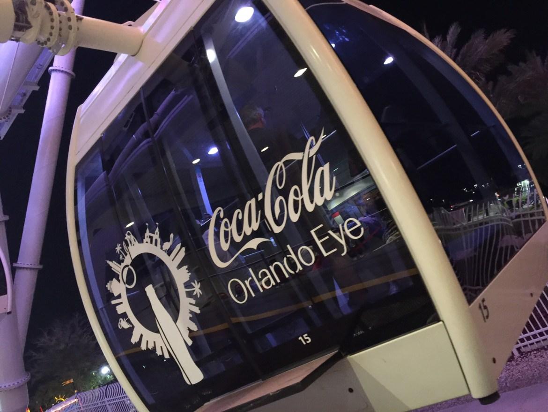 Things to do in Orlando with kids | Idrive 360 with kids | things to do on I-Drive | International Drive | Orlando Eye | #EyeHeartOrlando | family travel | acupful.com | Mandy Carter | travel with kids | Coca Cola Orlando Eye