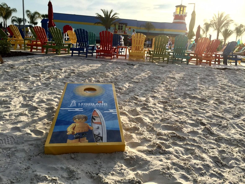 LEGOLAND Beach Retreat hotel pool | legoland hotel | acupful.com | Mandy Carter - travel blogger | family friendly hotel | #brickbeach | Legoland Florida | family travel