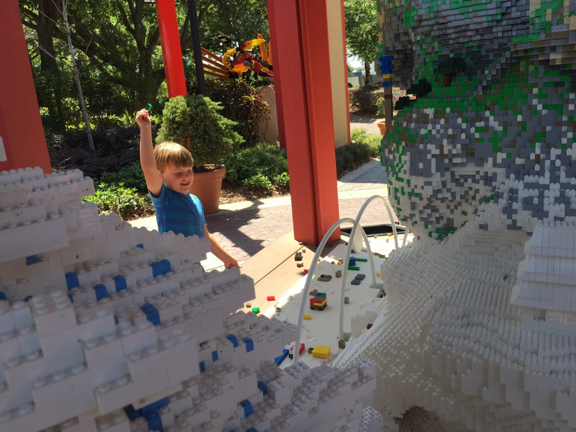LEGOLAND Ninjao World | get to Ninjago first by staying at The Legoland Hotel | LEGOLAND FLORIDA | acupful.com | Mandy Carter | #BuiltForKids #Ninjago | Legoland Orlando tips