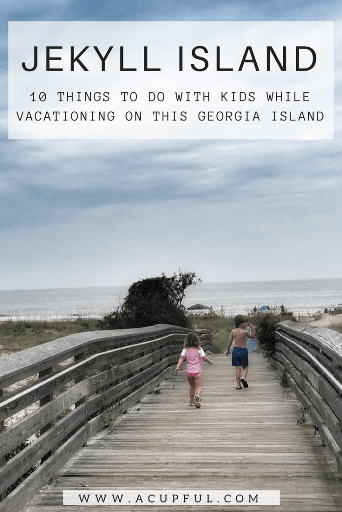 Jekyll Island with Kids | Vacation on the Golden Isles of Georgia | Family Travel | Acupful.com | 10 things to do with kids in Jekyll Island | #JekyllIsland | Mandy Carter travel writer & photographer | Jekyll