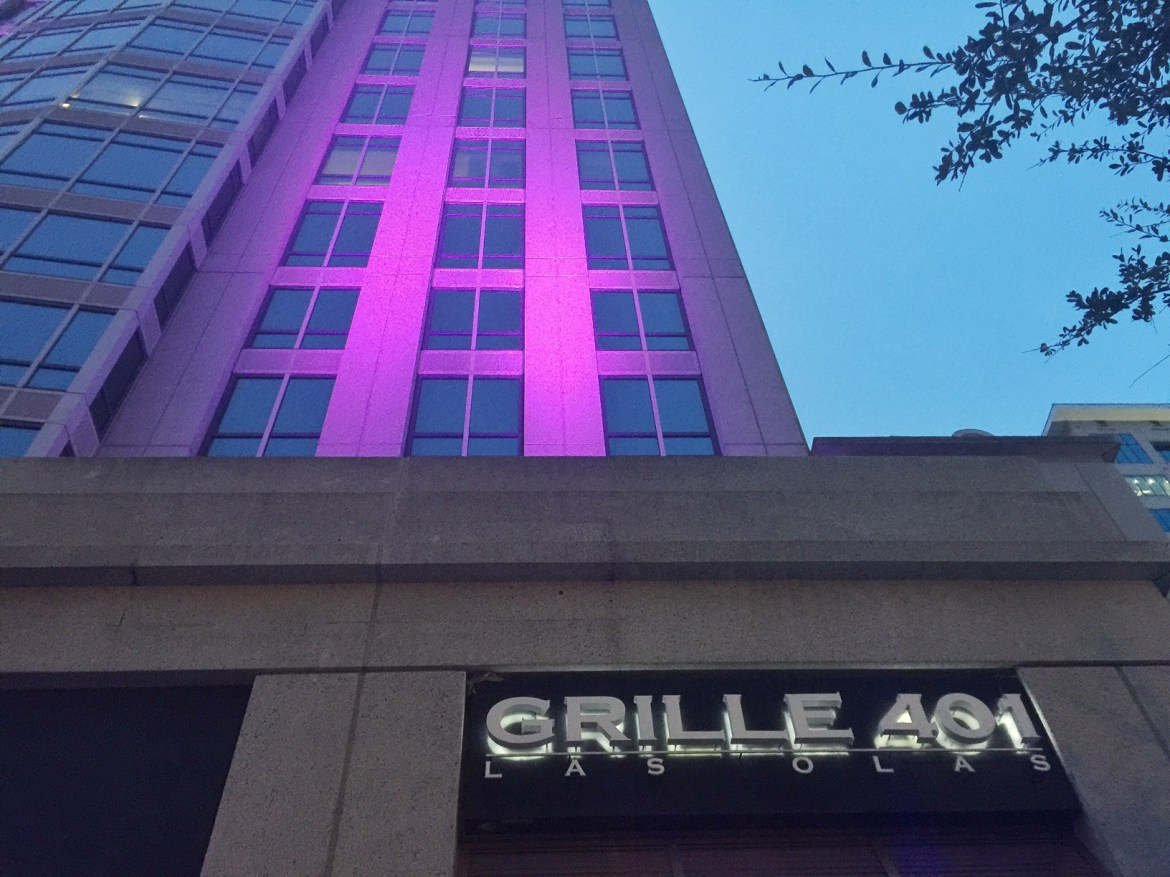 Grille 401 on Las Olas Blvd in Fort Lauderdale