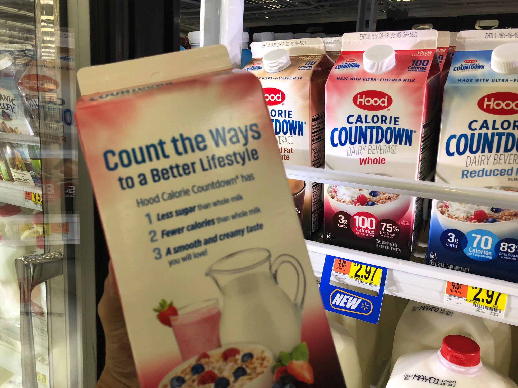 Milk substitute | Dairy beverage to replace milk with | Hood Calorie Countdown | Acupful.com | Family Lifestyle blogger Mandy Carter| healthy milk for kids | Hood calorie countdown coupon