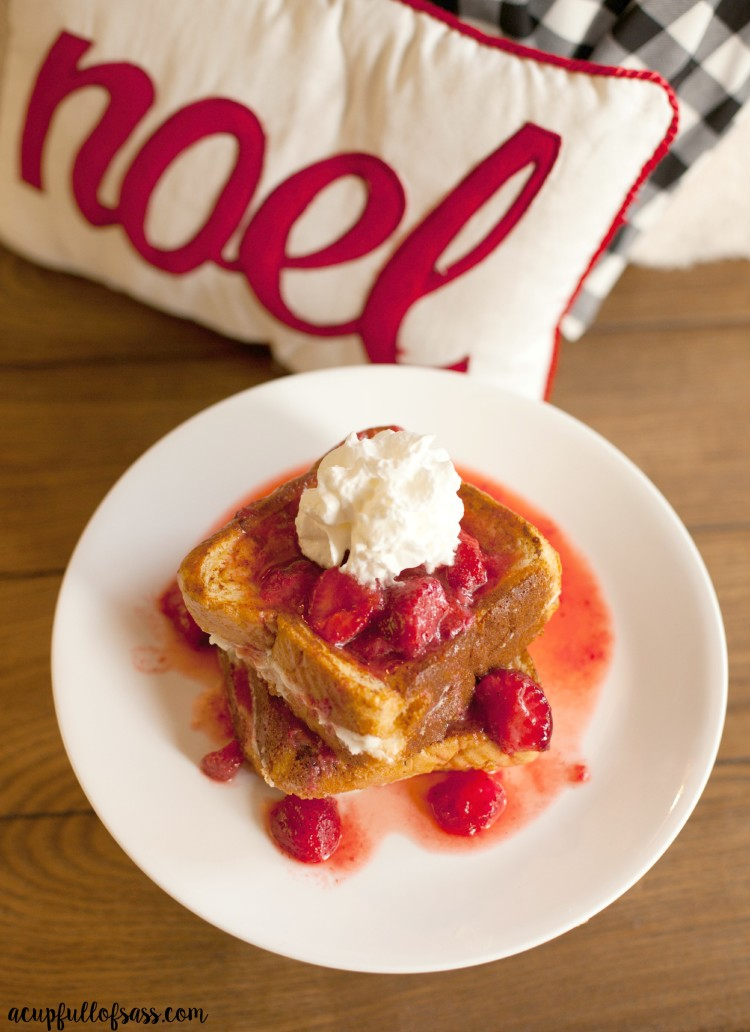 Cream Cheese Stuffed French Toast A Cup Full Of Sass