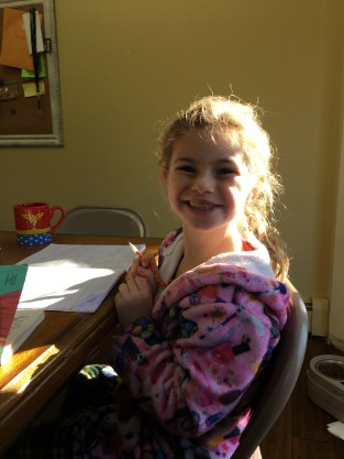 Brie 1st Home School Day