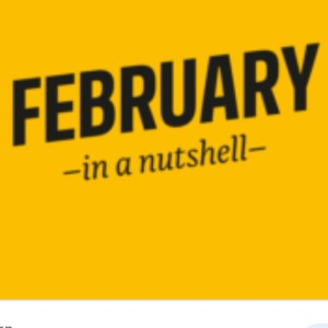 February in a Nutshell